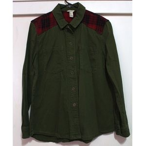 Forever 21 Jackets & Coats - Forever 21 New button up size Medium